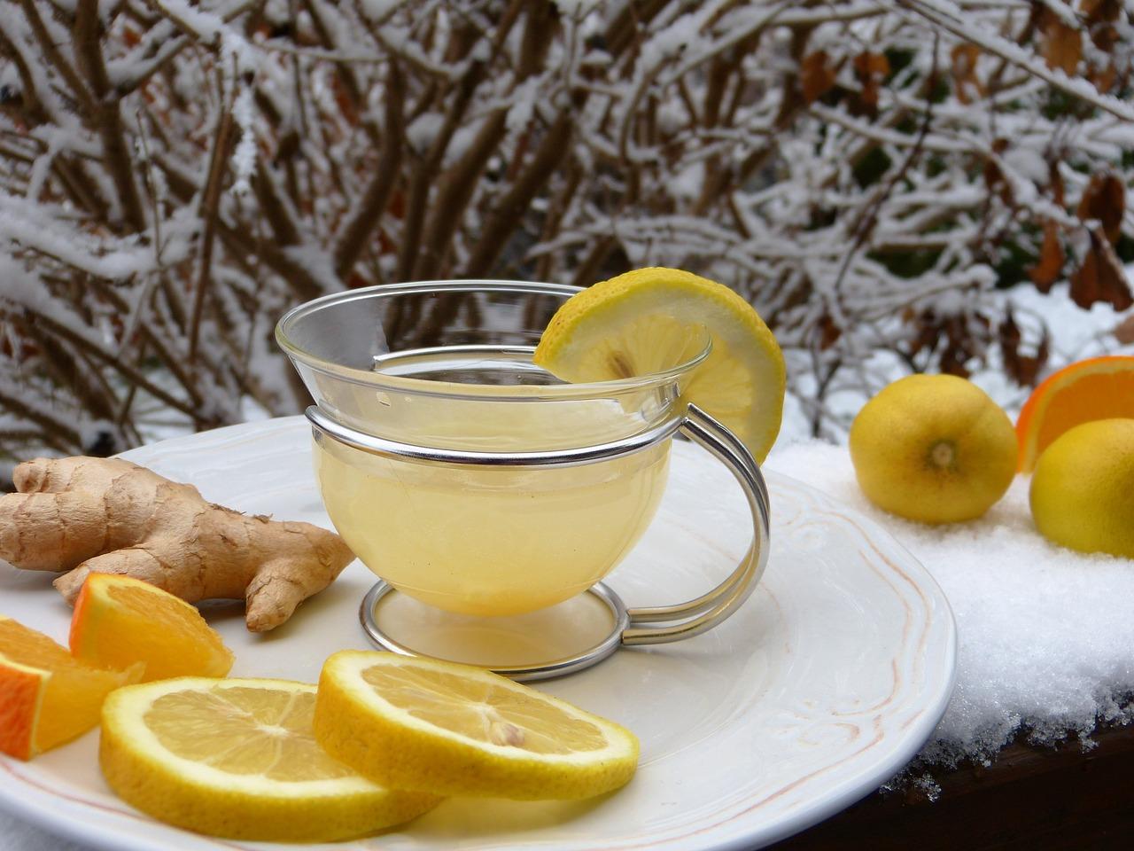 Ingwertee – ein Mittel gegen Erkältung